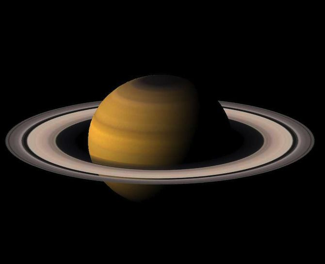 The ring of Saturn